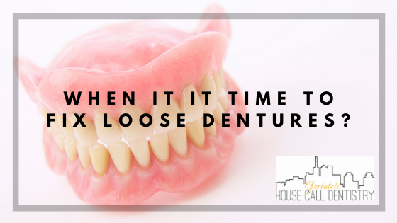 fix loose dentures
