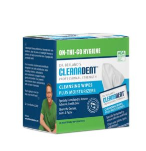 Dr. Berland's cleanadent wipes