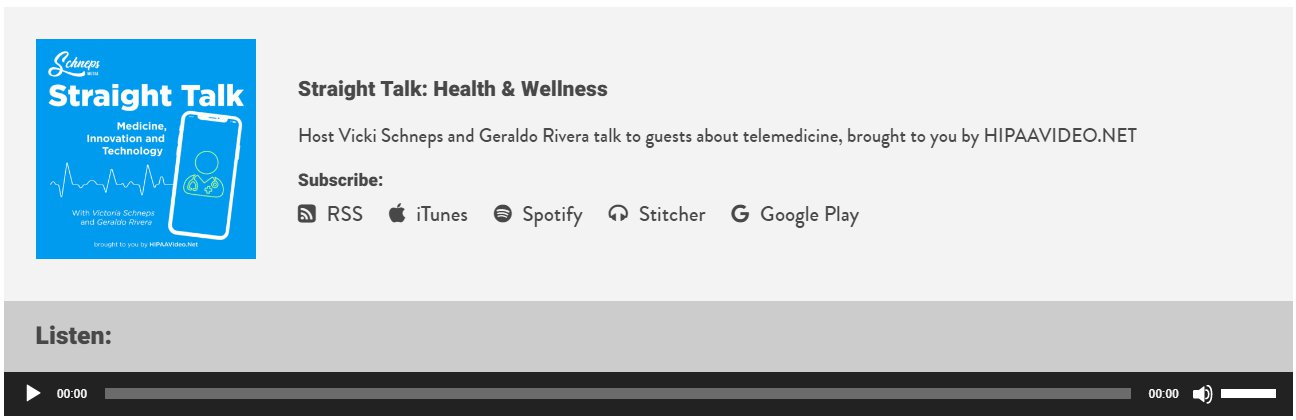 Straight Talk: Health & Wellness with Vicki Schneps and Geraldo Rivera – Episode 6