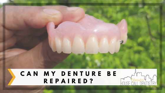 can my denture be repaired