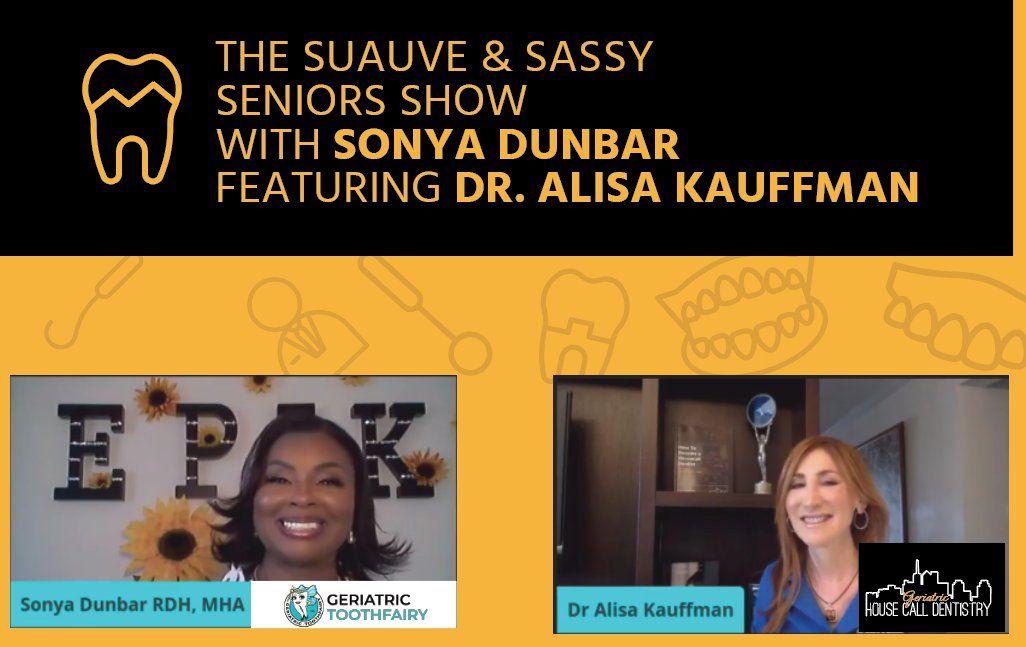 The Suave and Sassy Seniors Show with Sonya Dunbar featuring Dr. Alisa Kauffman