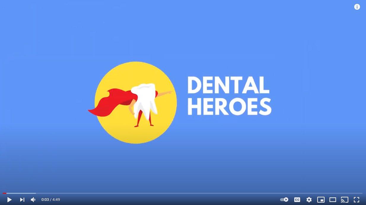 dental heros with Dr. Joy
