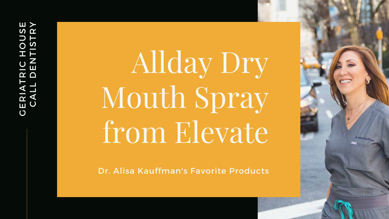 product review of allday dry mouth spray from elevate