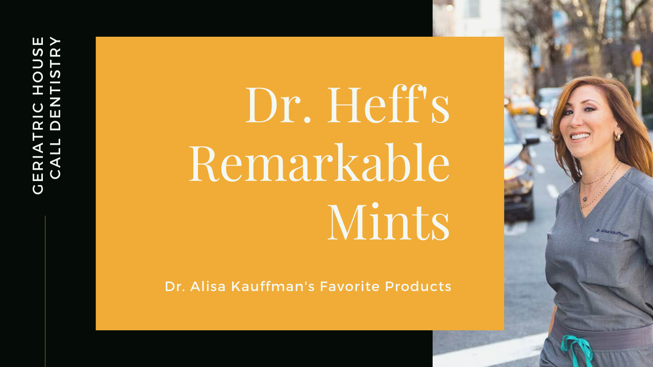 product review for dr heff's remarkable mints